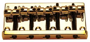 5 STRING BASS BRIDGE GOLD
